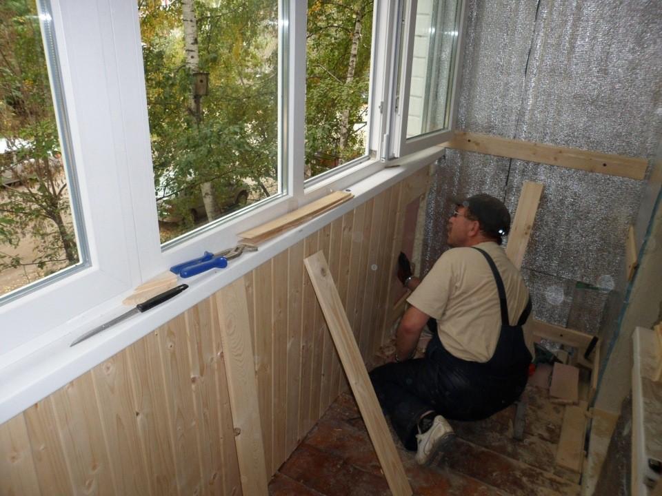 мастерской как правильно обшить балкон изнутри фото выступает качестве